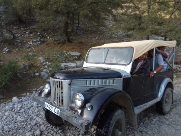 Jeep tours in Kyrgyzstan